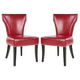 Enjoyable Red Wood Dining Chairs At Lowes Com Evergreenethics Interior Chair Design Evergreenethicsorg