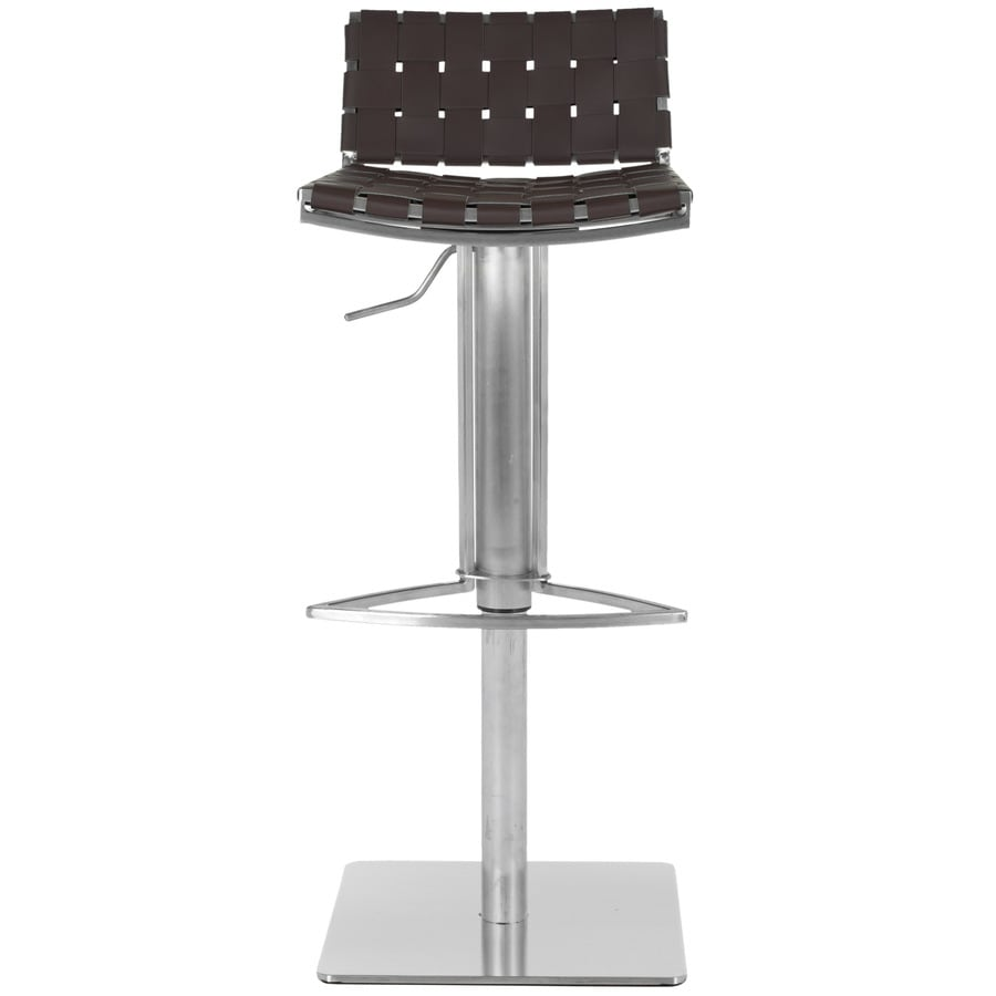 Safavieh Mitchell Modern Brown Adjustable Stool