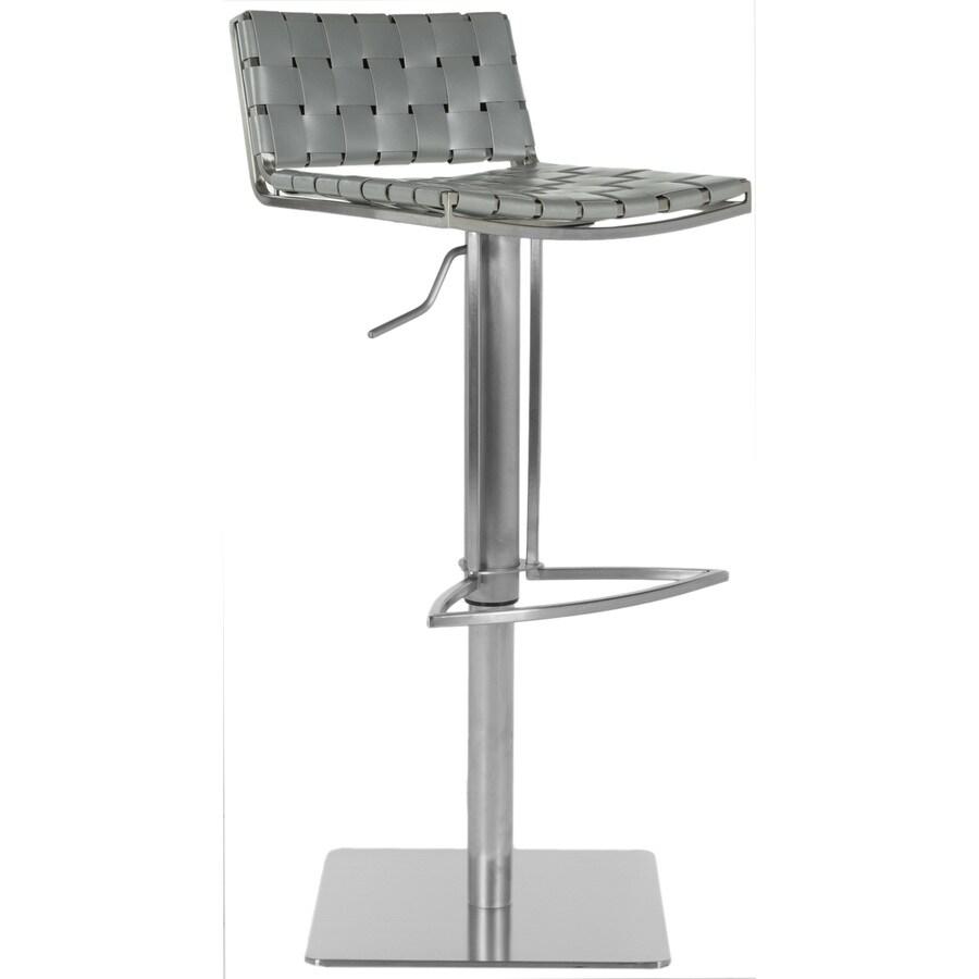 Safavieh Mitchell Modern Gray Adjustable Stool