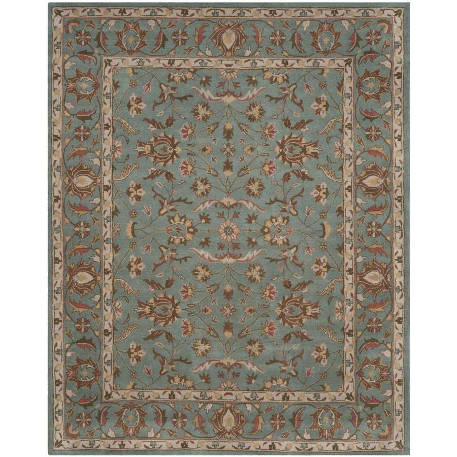 Safavieh Heritage Salor Blue/Blue Indoor Handcrafted Oriental Area Rug (Common: 12 x 15; Actual: 12-ft W x 15-ft L)
