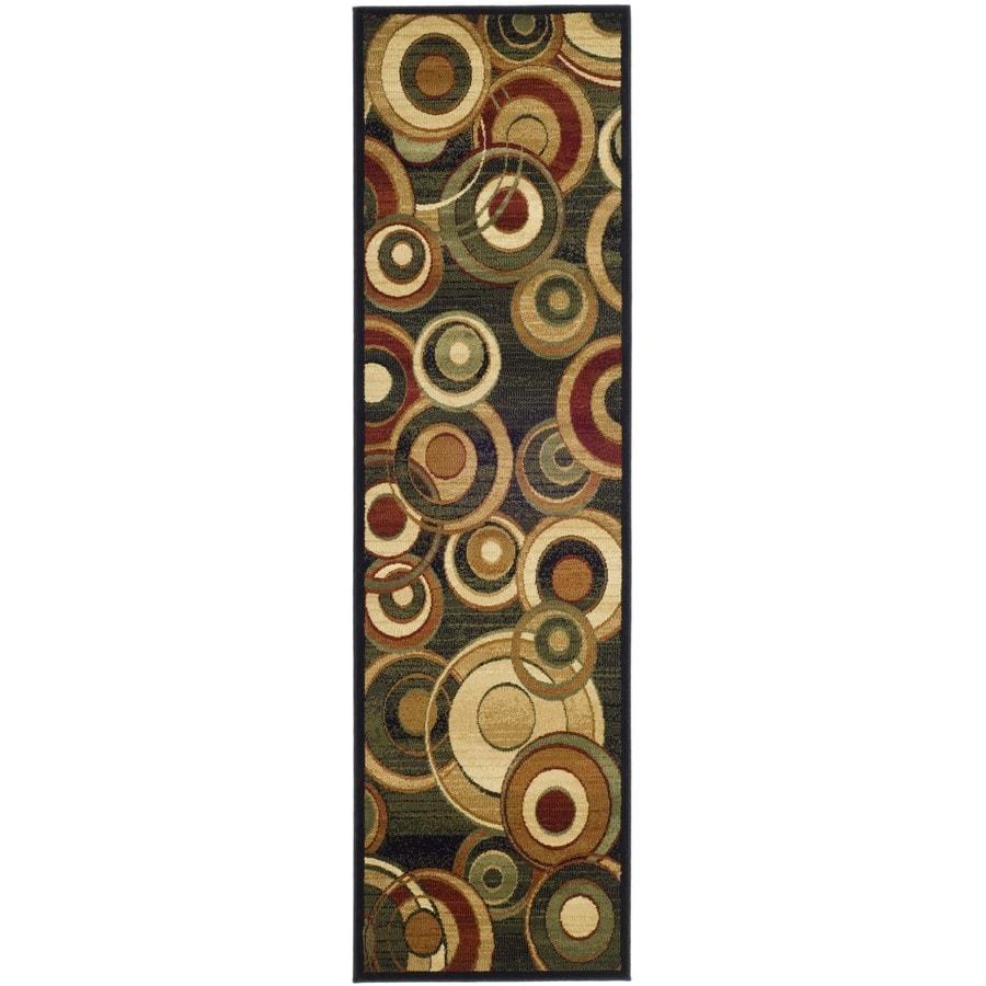 Safavieh Lyndhurst Multicolor Woven Runner (Common: 2-ft x 22-ft; Actual: 2.25-ft x 22-ft)