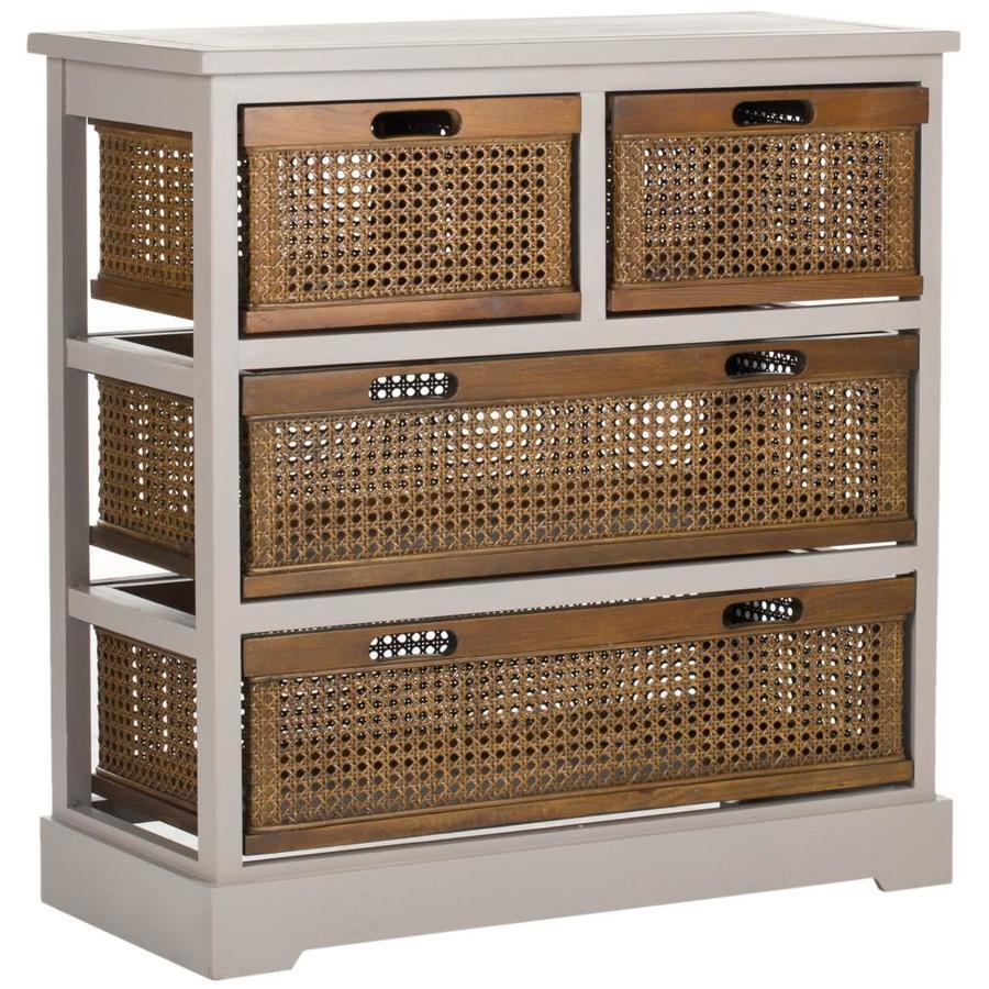 Safavieh Jackson Quartz Gray Pine Console Table
