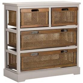 safavieh jackson wood pine console table