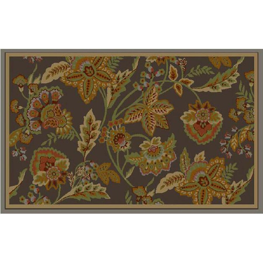Safavieh Blossom Rectangular Hand-Hooked Area Rug (Common: 5 x 7; Actual: 60-in W x 84-in L)