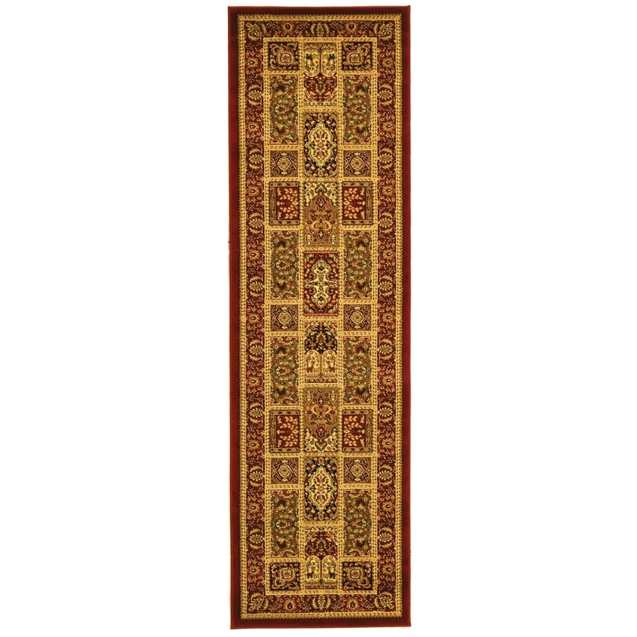 Safavieh Lyndhurst Bolero Red Indoor Oriental Runner (Common: 2 x 20; Actual: 2.25-ft W x 20-ft L)
