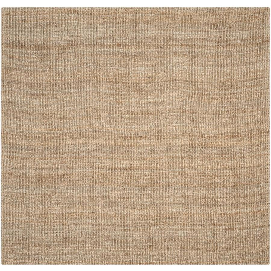 Safavieh Natural Fiber Bellport Square Indoor Handcrafted Coastal Area Rug Common 8 X