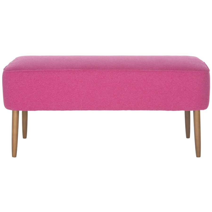 Safavieh Levi Transitional Pink Accent Bench