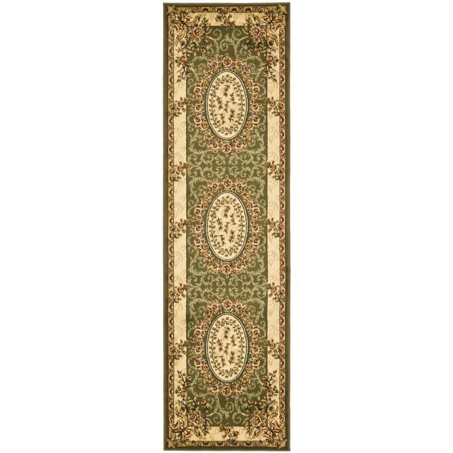 Safavieh Lyndhurst Grandour Sage/Ivory Indoor Oriental Runner (Common: 2 x 6; Actual: 2.25-ft W x 6-ft L)