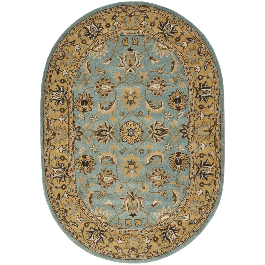 Shop Safavieh Heritage Tekke Blue Gold Indoor Handcrafted