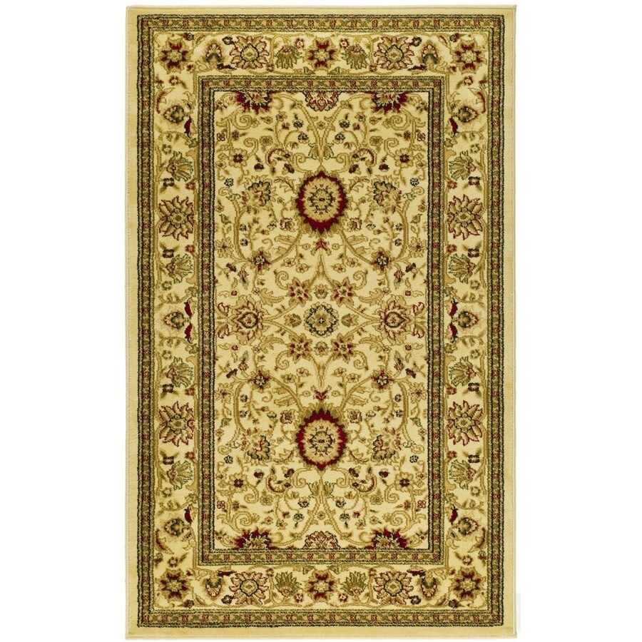 Safavieh Lyndhurst Sarouk Ivory Indoor Oriental Runner (Common: 2 x 6; Actual: 2.25-ft W x 6-ft L)