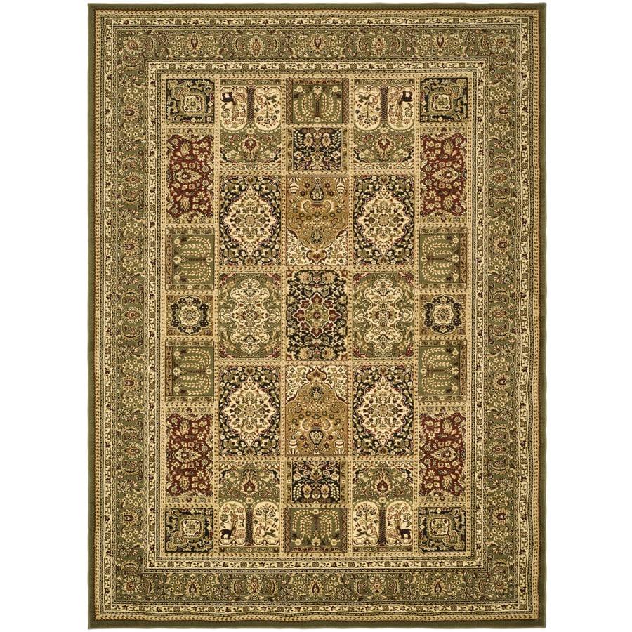 Safavieh Lyndhurst Bolero Green Indoor Oriental Runner (Common: 2 x 6; Actual: 2.25-ft W x 6-ft L)