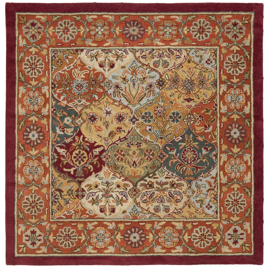Shop Safavieh Heritage Baktiari Red Indoor Handcrafted
