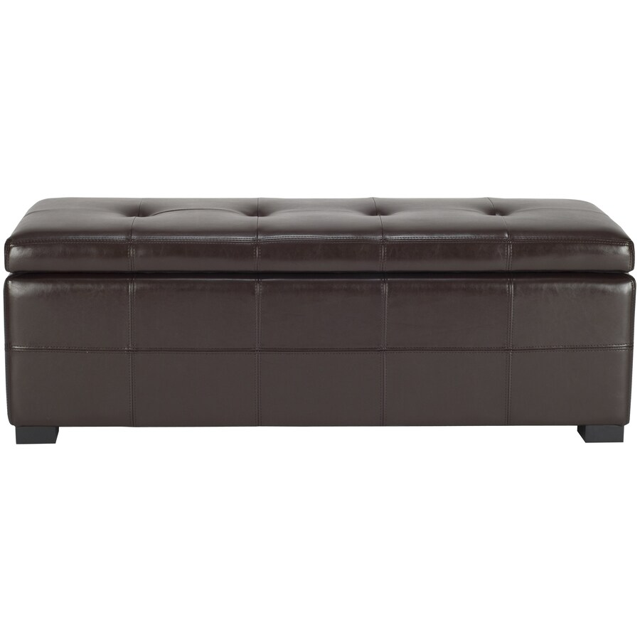Safavieh Maiden Large Brown Storage Bench