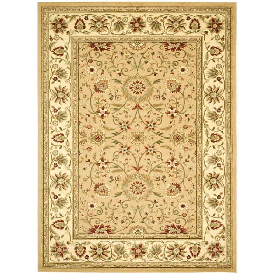 Safavieh Lyndhurst Sarouk Beige/Ivory Rectangular Indoor  Oriental Area Rug (Common: 9 x 12; Actual: 8.9-ft W x 12-ft L)