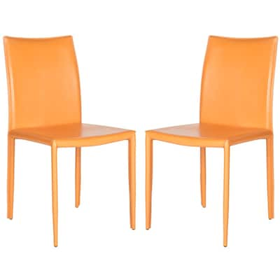 Excellent Safavieh Set Of 2 Karna Contemporary Side Chair At Lowes Com Camellatalisay Diy Chair Ideas Camellatalisaycom