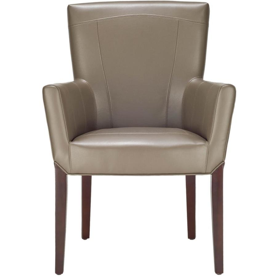 Safavieh Ken Casual Clay Faux Leather Club Chair