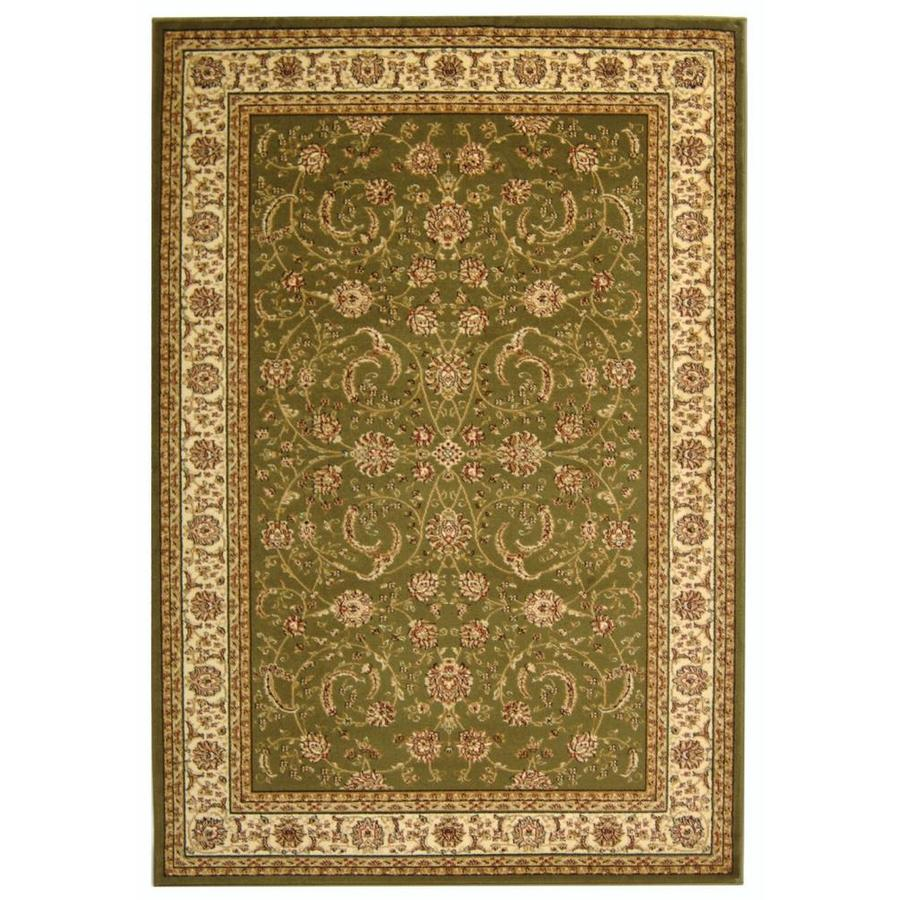 Safavieh Lyndhurst Lavar Sage/Ivory Indoor Oriental Area Rug (Common: 4 x 6; Actual: 4-ft W x 6-ft L)