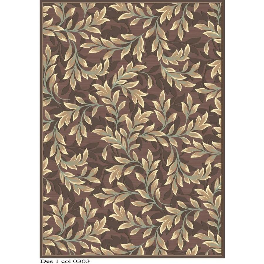 Safavieh Paradise Tyme Light Brown Rectangular Indoor Machine-made Oriental Area Rug (Common: 8 x 11; Actual: 8-ft W x 11.167-ft L)