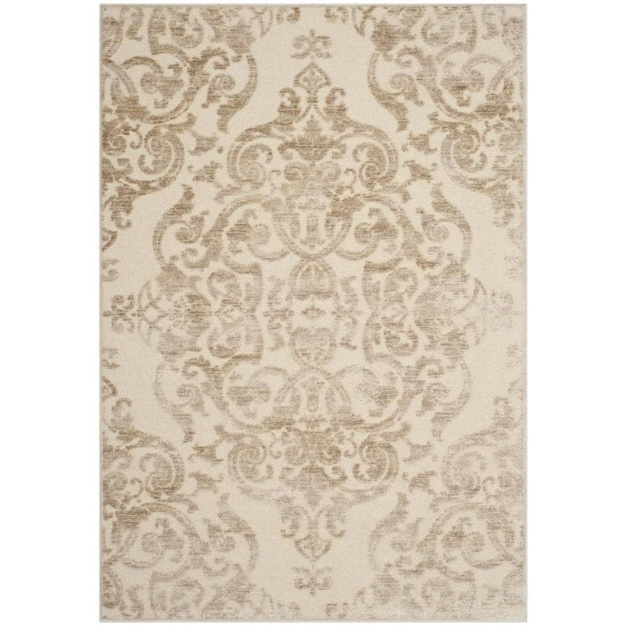 Safavieh Paradise Sawyer Stone Rectangular Indoor Machine-made Distressed Area Rug (Common: 5 x 7; Actual: 5.25-ft W x 7.5-ft L)
