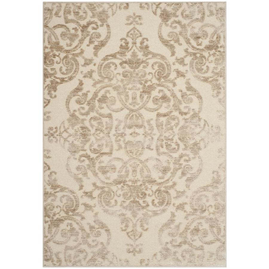 Safavieh Paradise Sawyer Stone Indoor Distressed Area Rug (Common: 8 x 11; Actual: 8-ft W x 11.2-ft L)