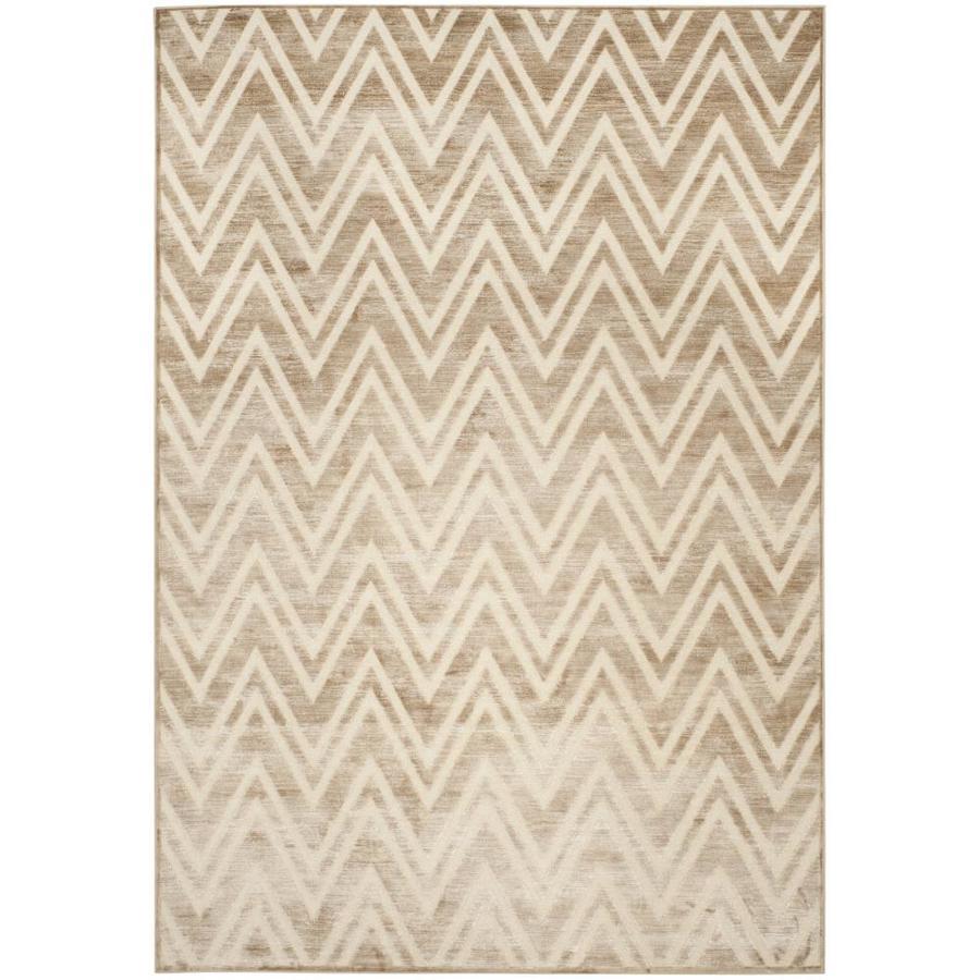 Safavieh Paradise Orion Caramel/Cream Indoor Distressed Area Rug (Common: 5 x 8; Actual: 5.25-ft W x 7.5-ft L)