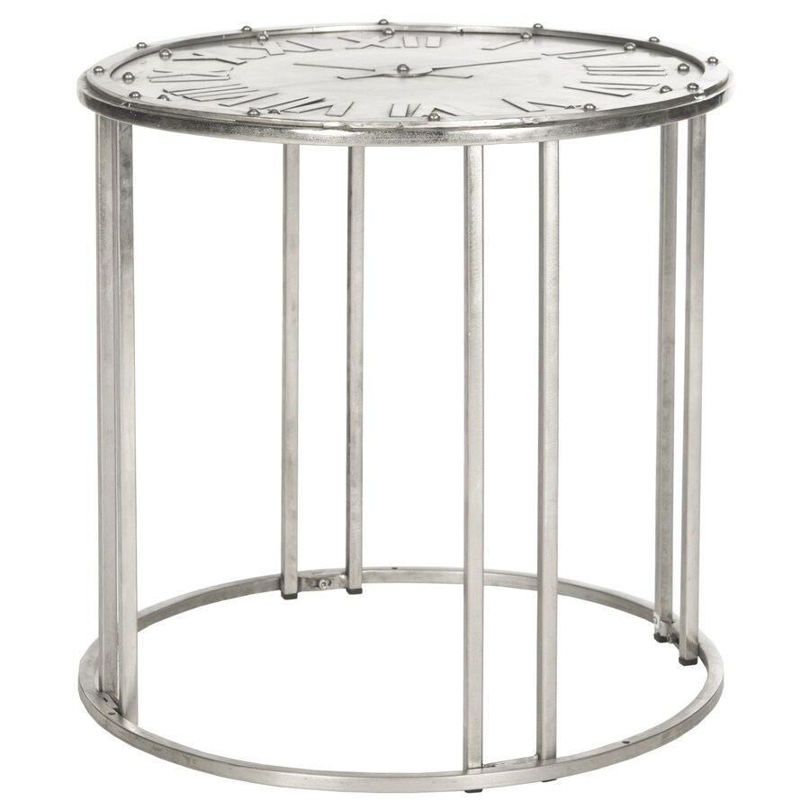 Safavieh Roman Antique Silver End Table