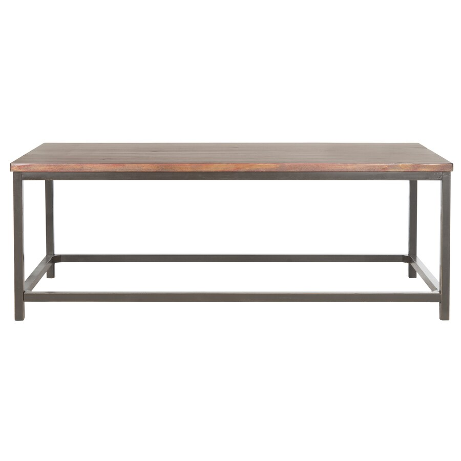 Safavieh Alec Brown Fir Coffee Table