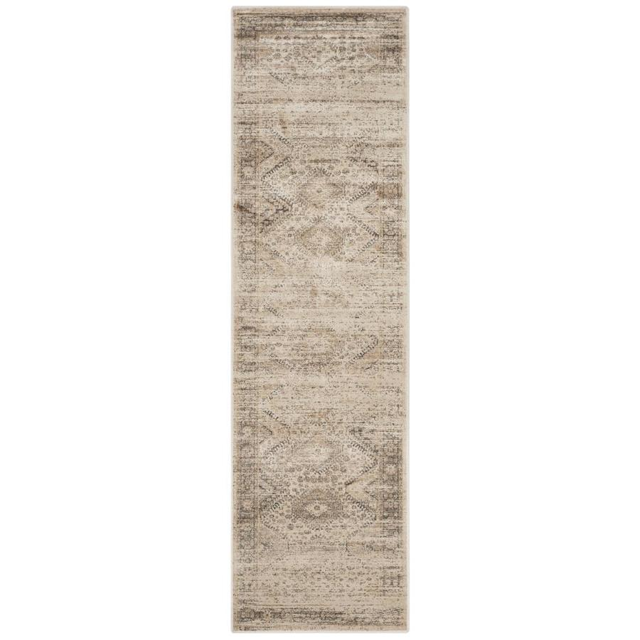 Safavieh Vintage Gul Stone Indoor Distressed Runner (Common: 2 x 8; Actual: 2.2-ft W x 8-ft L)