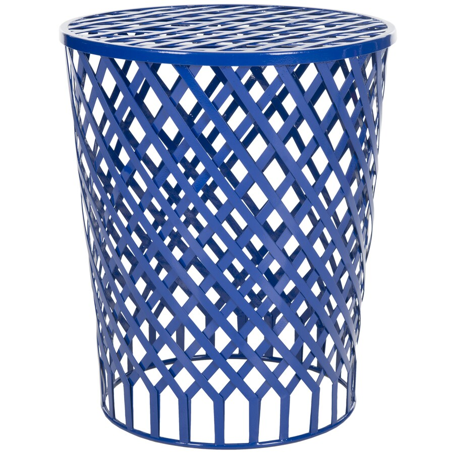 Shop Safavieh Thor Dark Blue End Table At Lowes Com