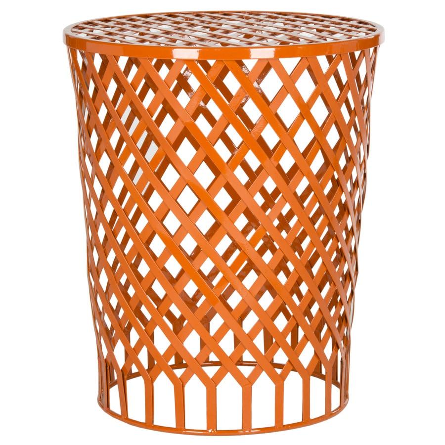 Safavieh Fox Orange Round End Table