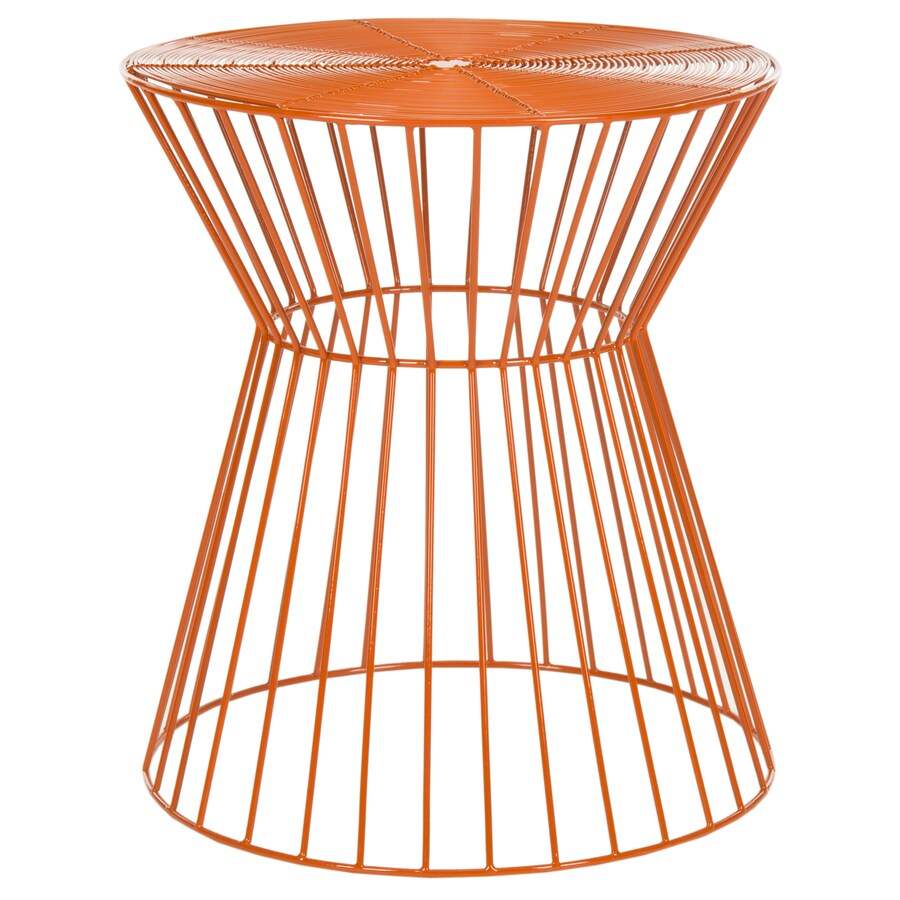 Safavieh Leila Orange End Table