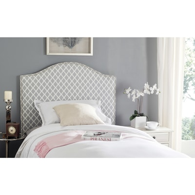 Safavieh Connie Gray White Twin Synthetic Upholstered
