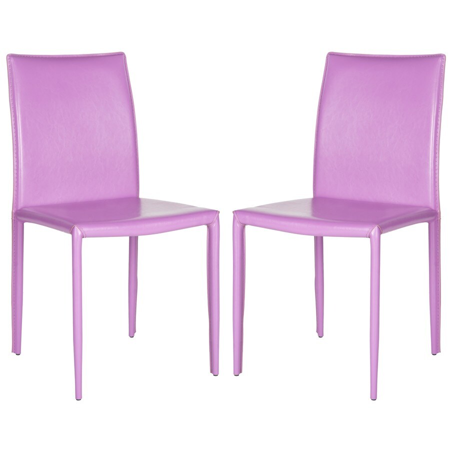 Safavieh Set of 2 Fox Purple Side Chairs