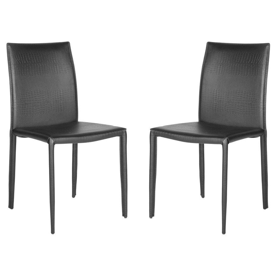 Safavieh Set of 2 Karna Contemporary Side Chairs
