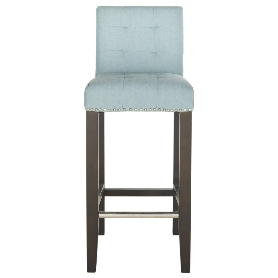 Safavieh Mercer Sky Blue 30-in Bar Stool (27-in to 35-in)