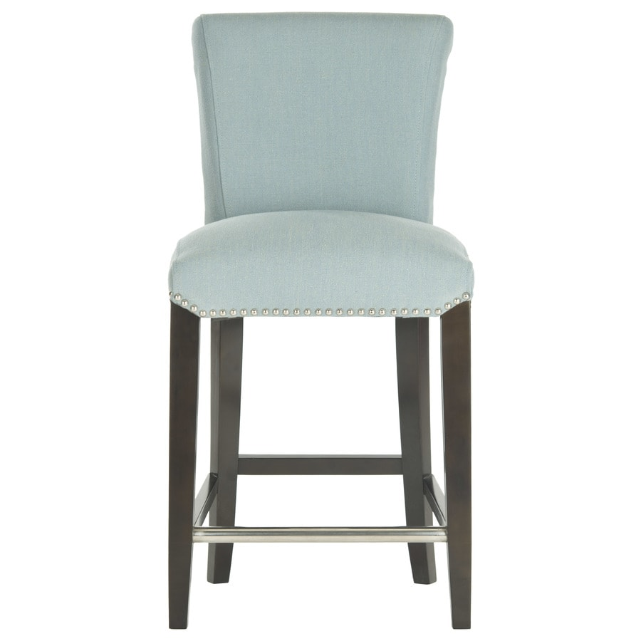 Shop Safavieh Seth Modern Sky Blue Counter Stool at Lowescom : 683726670223 from www.lowes.com size 900 x 900 jpeg 73kB