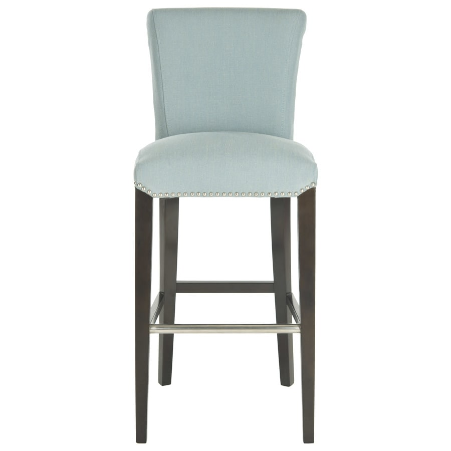 Safavieh seth modern sky blue bar stool