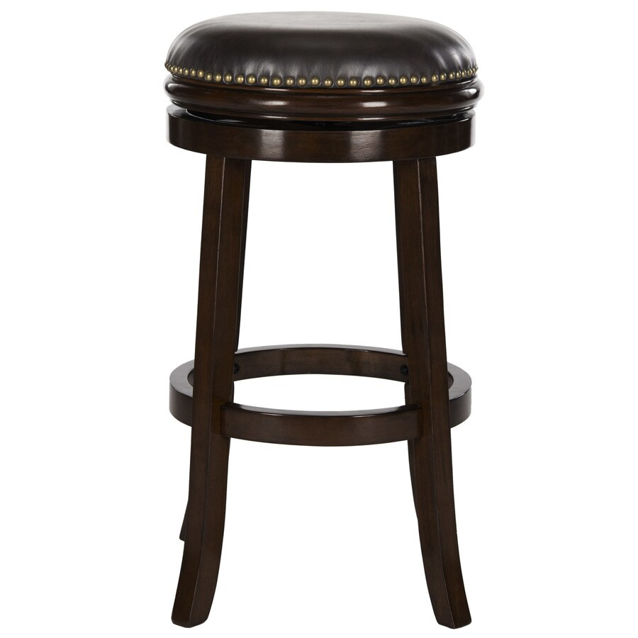 Shop Safavieh Biagio Modern Brown Bar Stool At Lowes Com