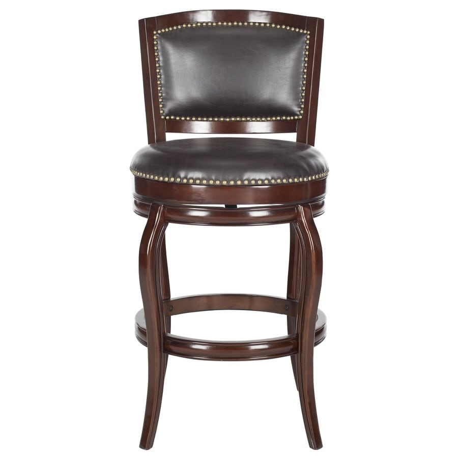 Shop Safavieh Pasquale Modern Brown Bar Stool At