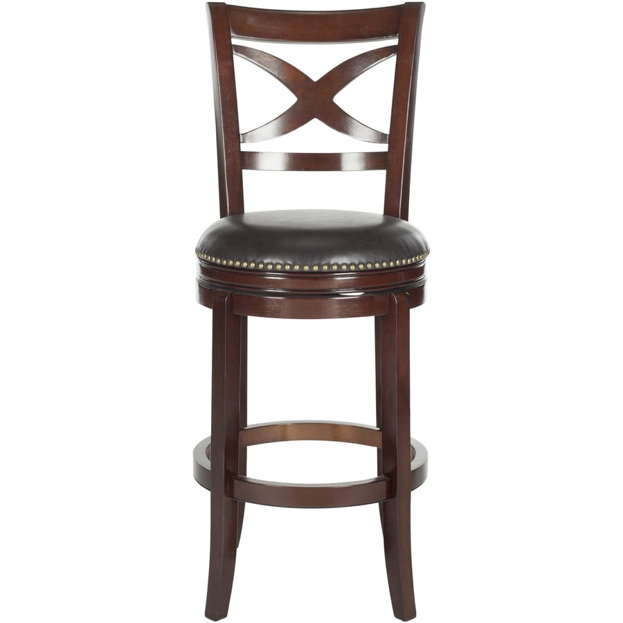Safavieh Santino Modern Brown Bar Stool