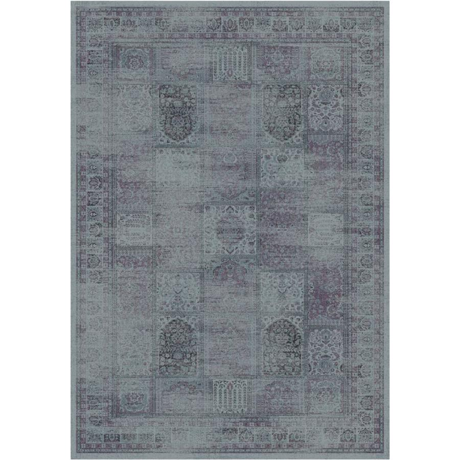 Safavieh Vintage Baktiari Amethyst Rectangular Indoor Machine-made Distressed Area Rug (Common: 5 x 7; Actual: 5.25-ft W x 7.5-ft L)