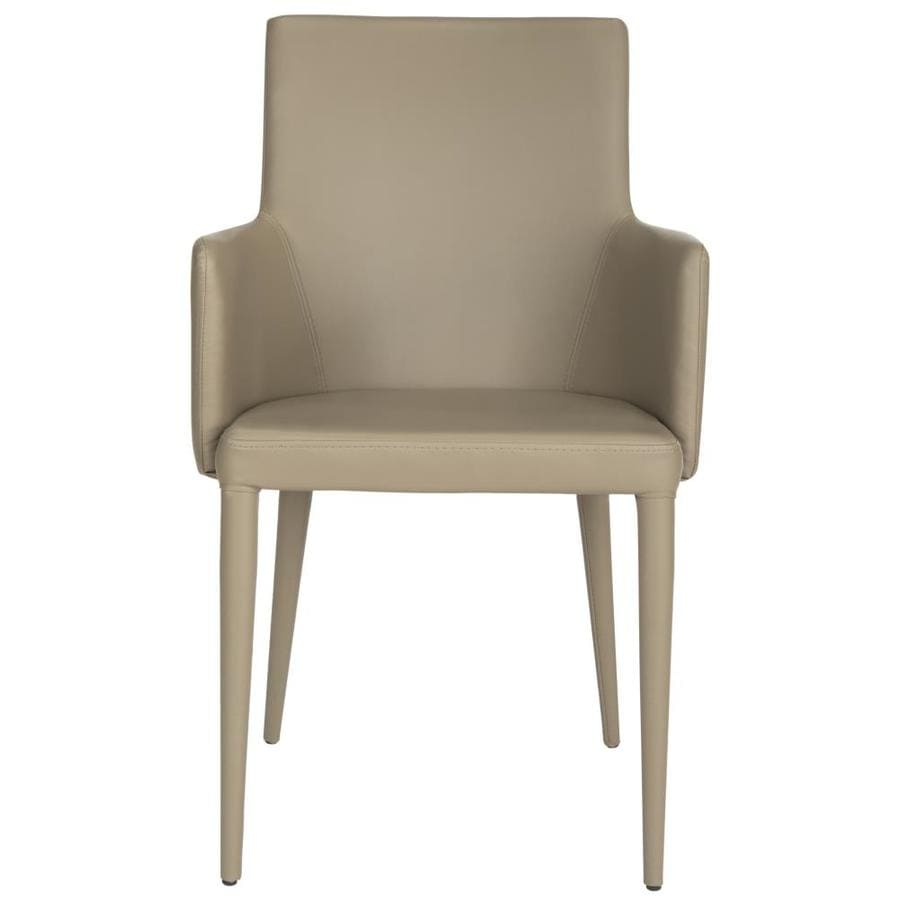 Safavieh Summerset Taupe Faux Leather Accent Chair