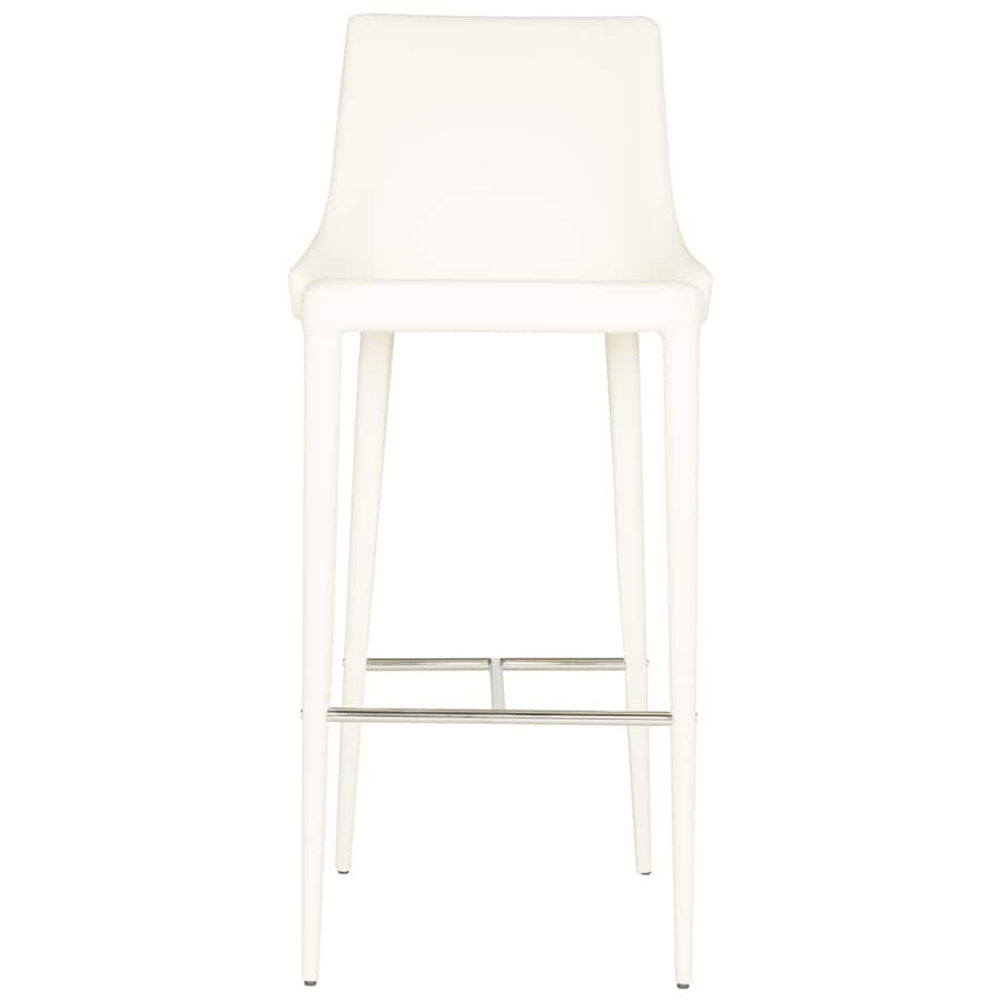 Safavieh Fox Buttercream 29.9-in Bar Stool (27-in to 35-in)