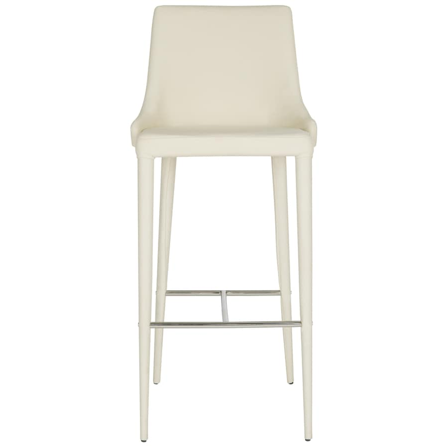 Safavieh Fox Beige 29.9-in Bar Stool (27-in to 35-in)