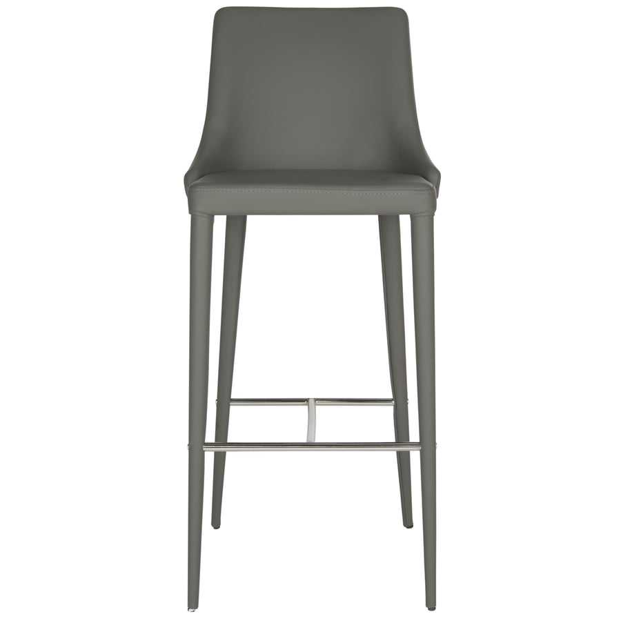 Safavieh Fox Grey 29.9-in Bar Stool (27-in to 35-in)