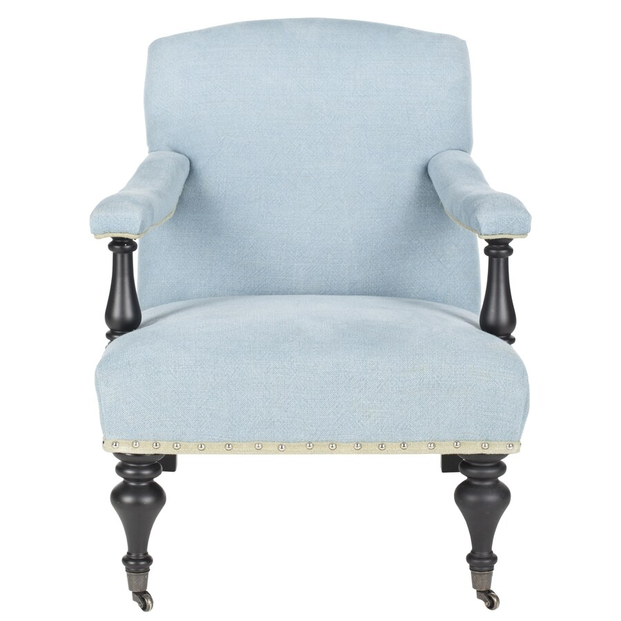 Safavieh Devona Casual Light Blue Accent Chair