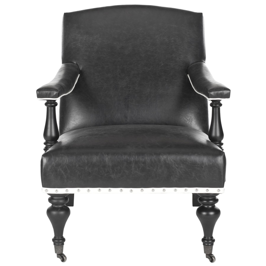 Shop Safavieh Devona Casual Black Accent Chair At