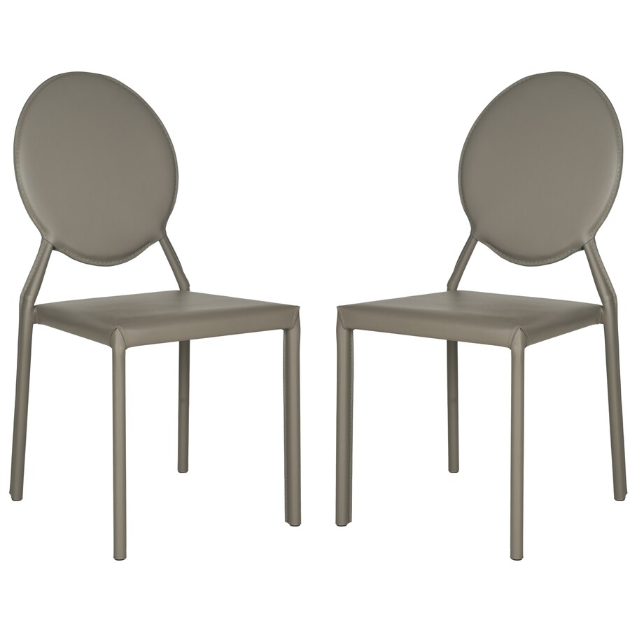 Safavieh Set of 2 Fox Gray Side Chairs