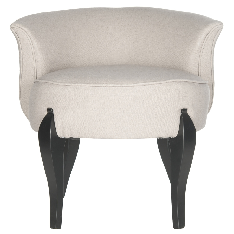 Safavieh Mora Casual Taupe Linen Accent Chair