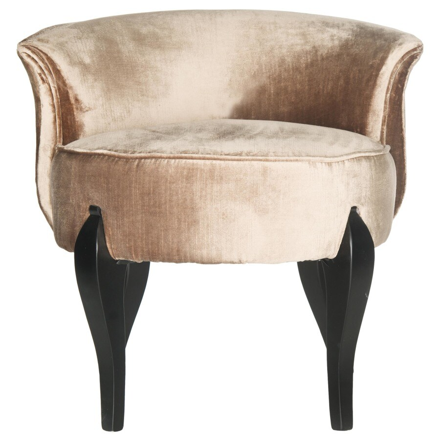 Safavieh Mercer Mink Brown Cotton Accent Chair